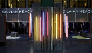 Fluorescent candlesticks Silvian Heach